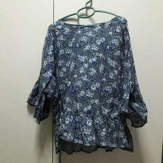 Uniqlo Batik Top (NEW)