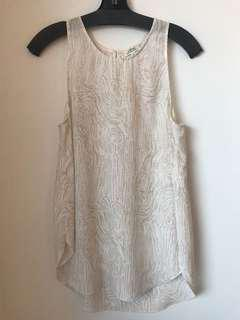 Aritzia Wilfred sevres blouse size small