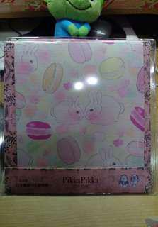 Pikka 日本製 洗臉布 拭淨布 兔子馬卡龍