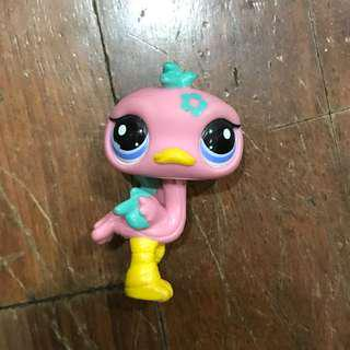 LPS Pink Ostrich (Authentic)