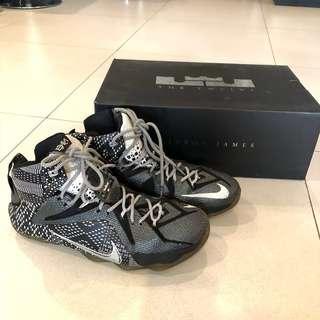 7dfdce8897eb Nike Lebron James 12s BHM size 11 US