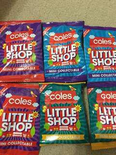 Coles Minis 6x UNOPEN