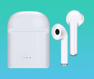 Great Basic Wireless Bluetooth Earphone Earbuds, Perfect For Gifts Or Personal Use!