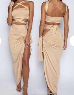 Babyboo nude criss cross dress