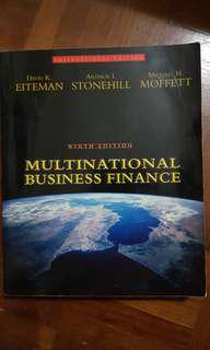 Multinational Business Finance by Eiteman, Stonehill, Moffett