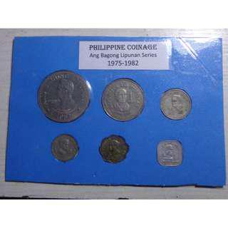 Philippines - Philippine Coinage Ang Bagong Lipunan Series type set