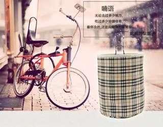 New bicycle basket bag