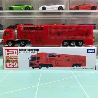 Tomica No.129 Racing Transporter 中製有貼