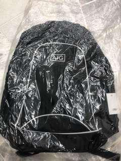 All Black Special Addition Back Pack Sponsored by AIG