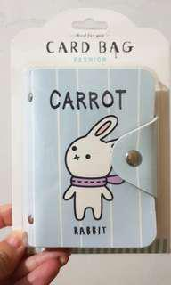 NEW bunny card bag