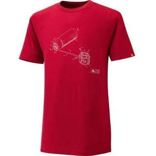 MSR model 9 stove t-shirt outdoor