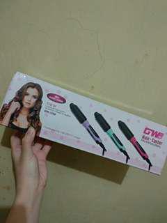 Hair Curler Catok Sisir Catokan Rambut New Murah 100% 3 in 1 Lurus Keriting GWP