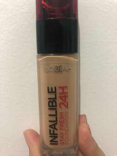 Foundation 24H shade 22