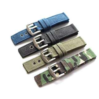 Outdoor Military Sports Canvas Series Cloth Watch Strap