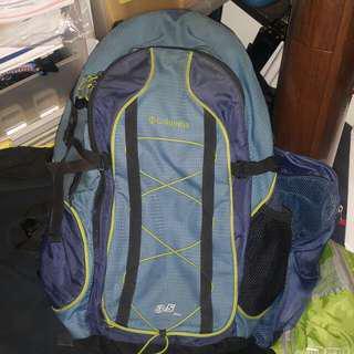 Columbia Backpack 護脊大背囊 35L (籃色)