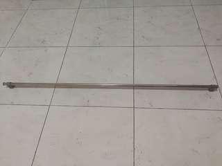 120cm Stainless steel bar holder bracket rod pole