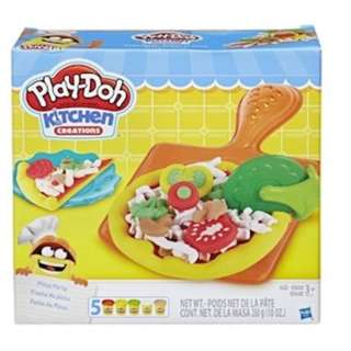 [Brand new] Play-Doh Kitchen Creations Pizza Party Set