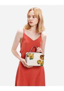 Original Charles & Keith X Van Gogh Limited Edition Sling Bag