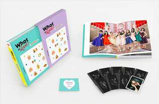 WTS TWICE What Is Love Monograph Photocard