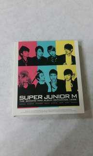 🚚 SUPER JUNIOR-M / 第二張國語迷你專輯「太完美」B版(CD+DVD)