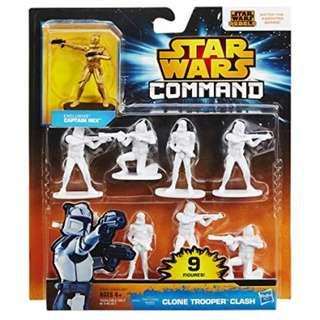 [Brand new] Star Wars Command Clone Trooper Clash Pack