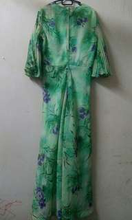 Green Dress M Size