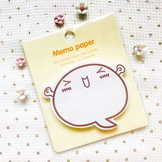Kawaii Smiley Sticky Notes