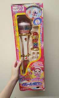 日本萬代正版 BANDAI 小魔女doremi 第一代 初代 克魯魯波隆 變身器 魔法棒