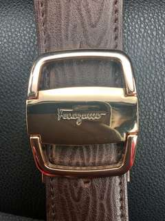 VINTAGE SALVATORE FERRAGAMO BELT MENS