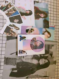 Taeyeon photobook and slogan