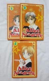 Alice Academy no.1, 2 & 4