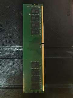 4 GB memory DDR4 2400MHz