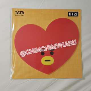 BTS BT21 Official Tata Mouse Pad (V/Taehyung's character) - Ready stock