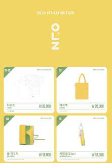 2018 BTS EXHIBITION GOODS
