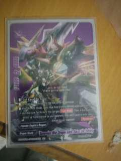 🚚 All buddyfight x and other seasons cards wts