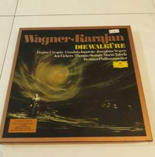 5-LP boxset Richard Wagner Die Walküre Classical Music