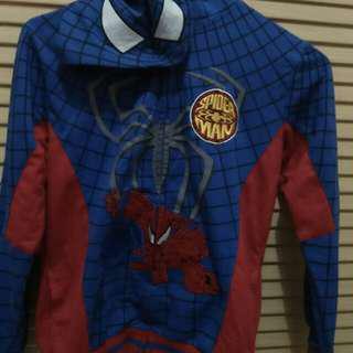 Jacket hoodie spiderman