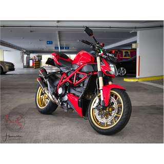 Bike Wash / Bike Grooming / Professional Detailing / Ducati Street Fighter 848