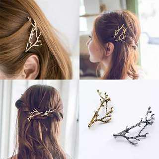 Aksesoris Rambut Wanita / Jepitan Ranting / Hairpin