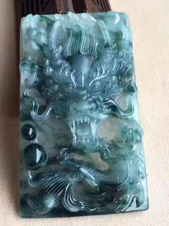 Jade Pendant天然緬甸翡翠A貨