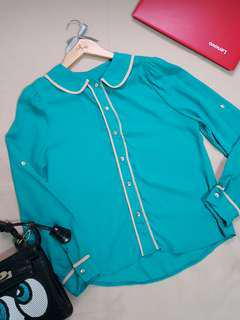 Teal Long sleeves