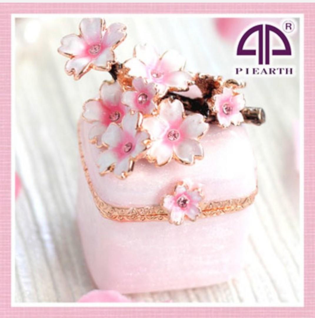日本櫻花首飾盒