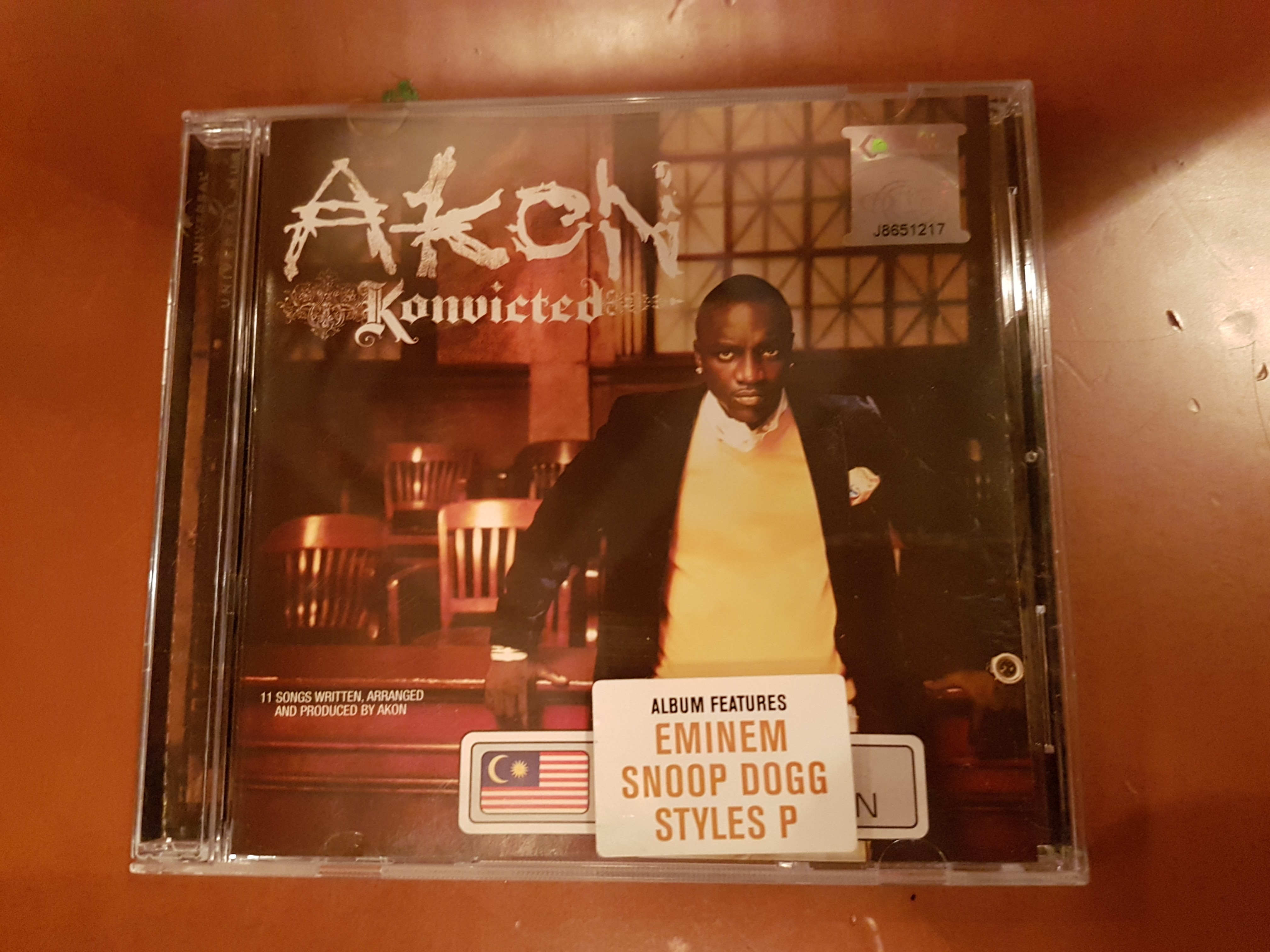 CD Akon - Konvicted - Convicted eminem snoop dogg styles p, Music