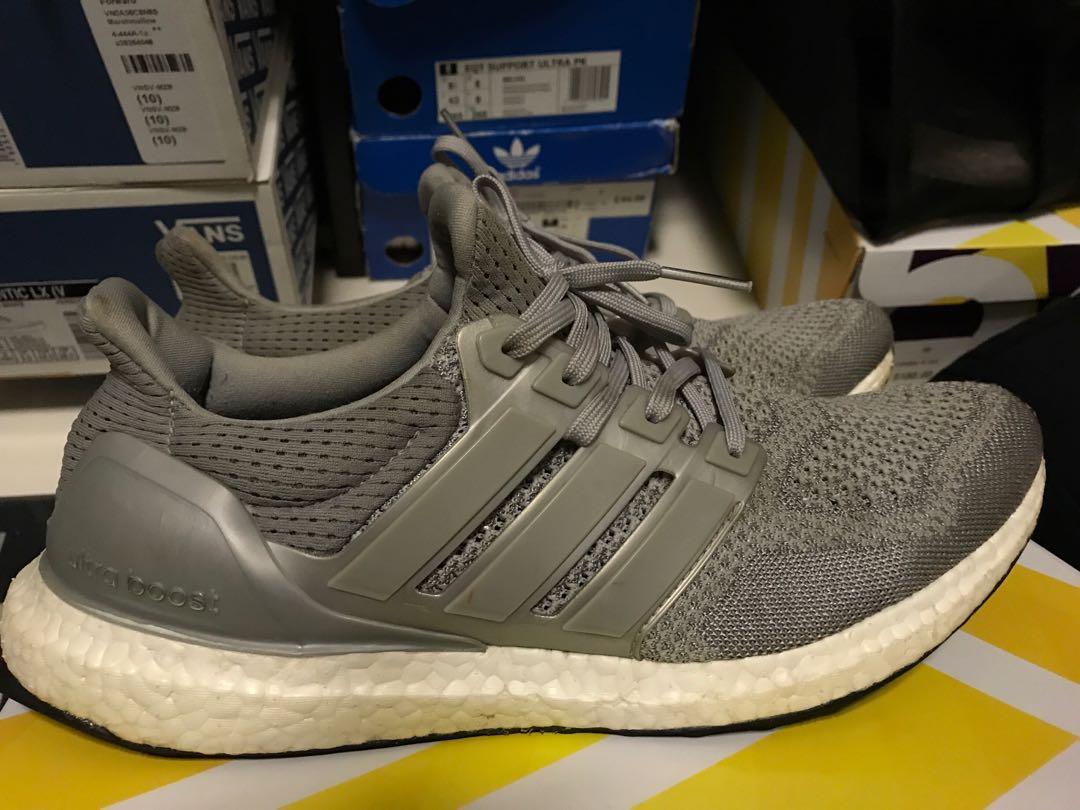 3ba2602a2bb00 Adidas Ultra Boost 1.0 Silver Metallic