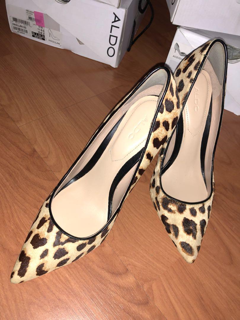 e4d324edd004 Aldo leopard print high heels, Women's Fashion, Shoes, Heels on ...