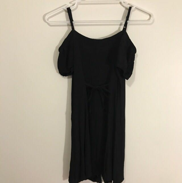 Alice In The Eve Black Dress Size 10 (suitable for size 6-8)