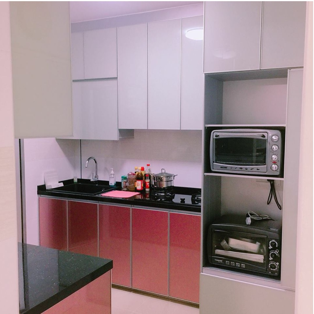 Aluminium Kitchen Cabinet Furniture Home Decor Others On Carousell