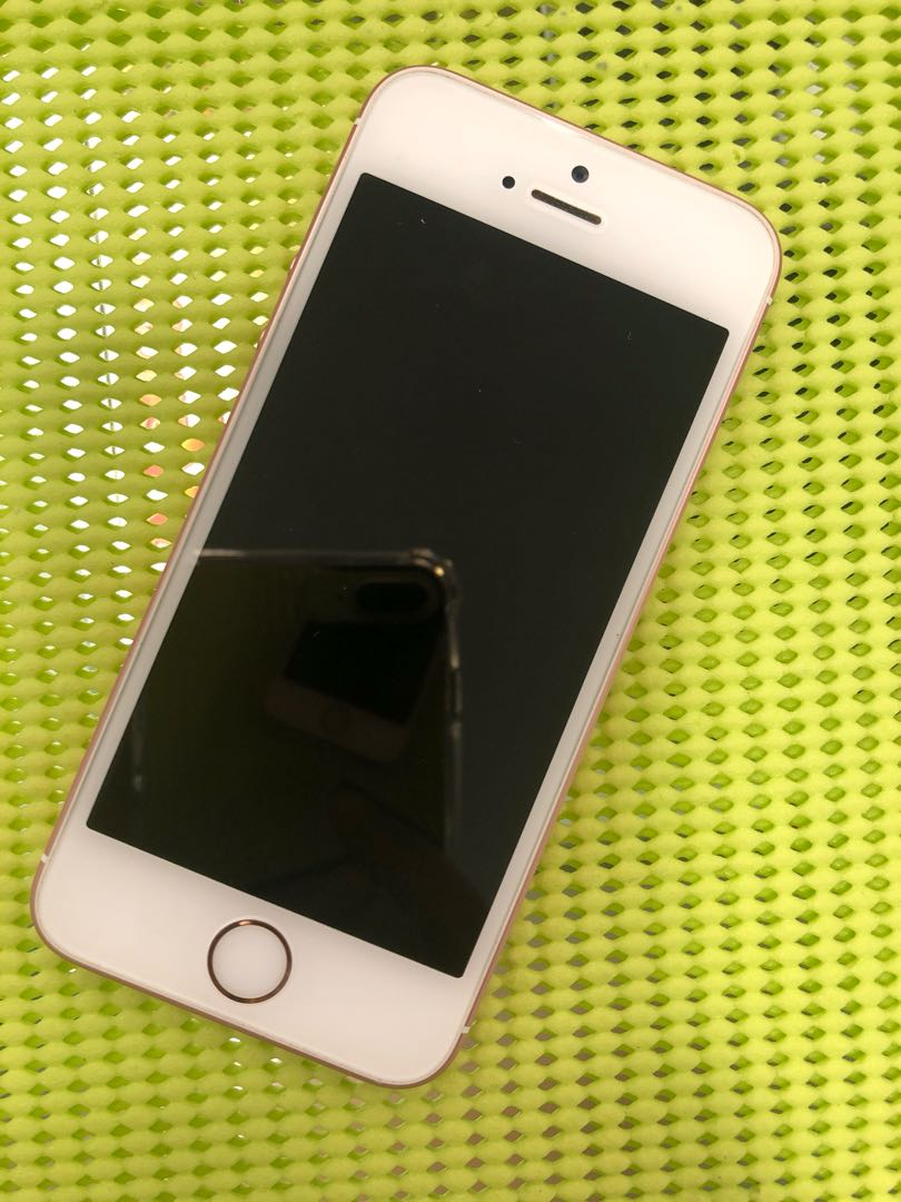 Apple Iphone Se 64gb Rose Gold Mobiles Tablets Photo