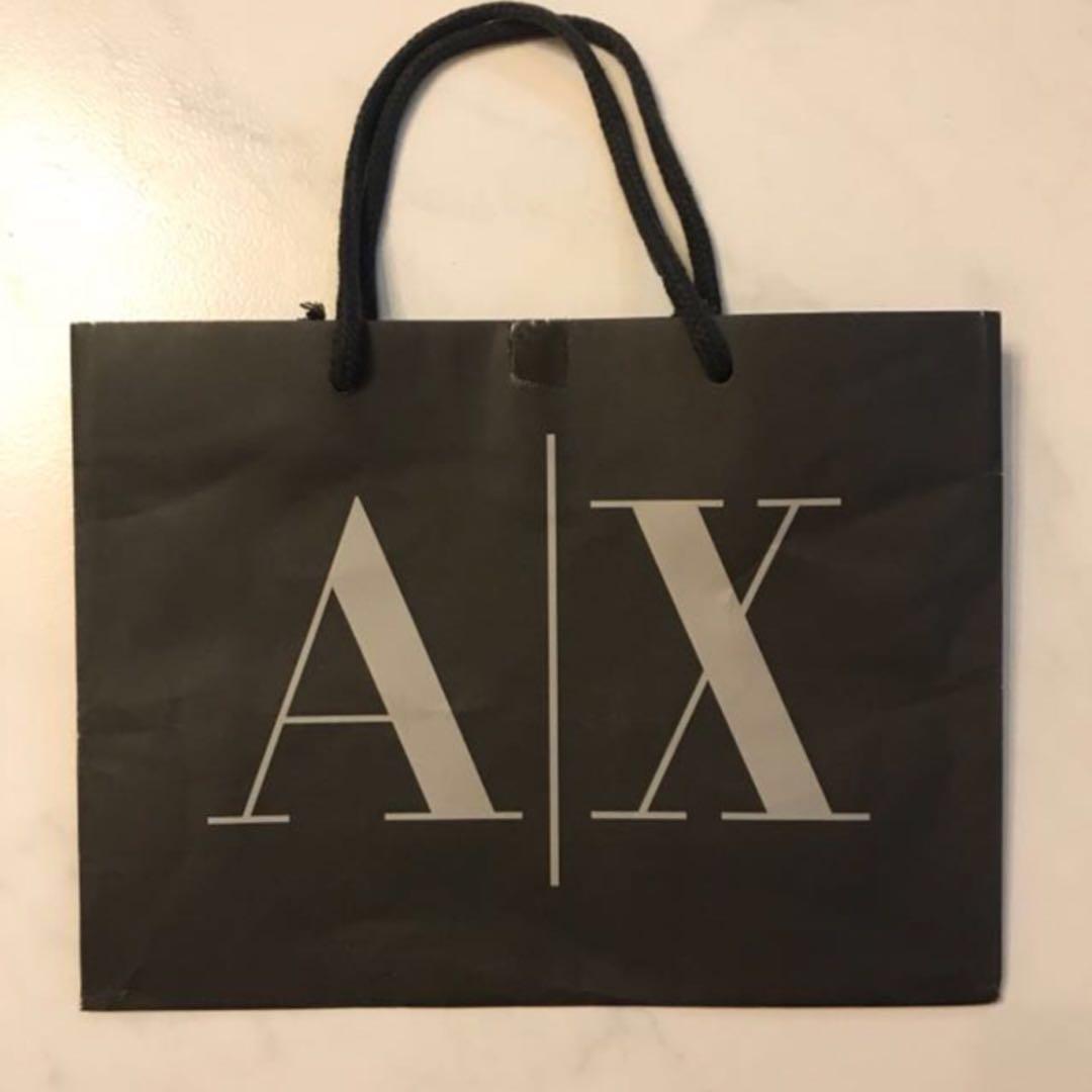 Armani Exchange Paper Bags c0cdf29fc358e