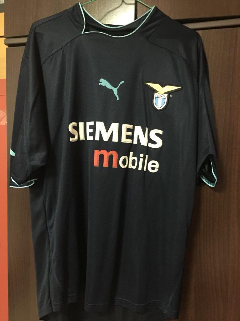 1de2dad68 Auth XXL Lazio Home Soccer Jersey